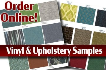 Order Vinyl & Upholstery/Fabric Samples