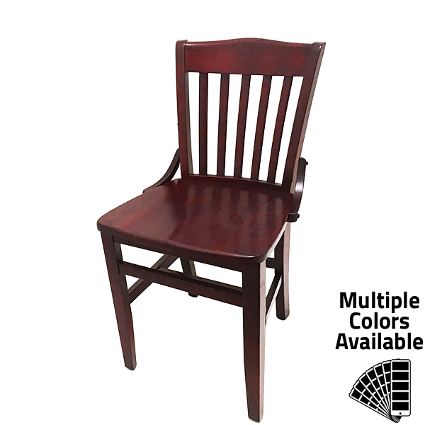 CW 554 Schoolhouse Solid Wood Frame Chair 1