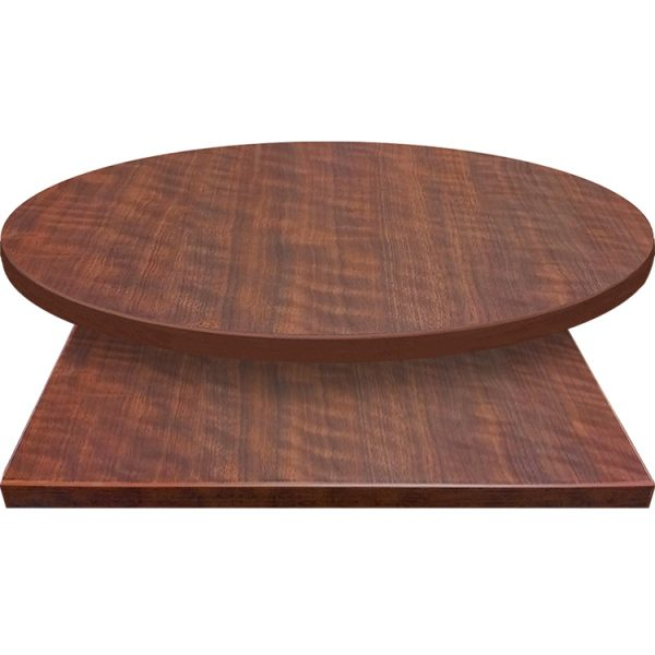 3mm Table Tops Black Walnut with matching 3mm edge