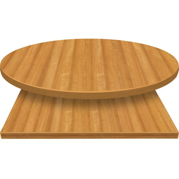 3mm Table Tops Planked Deluxe Pear with matching 3mm edge